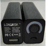 Londisk PB1S Powerbank 3000mAh Black